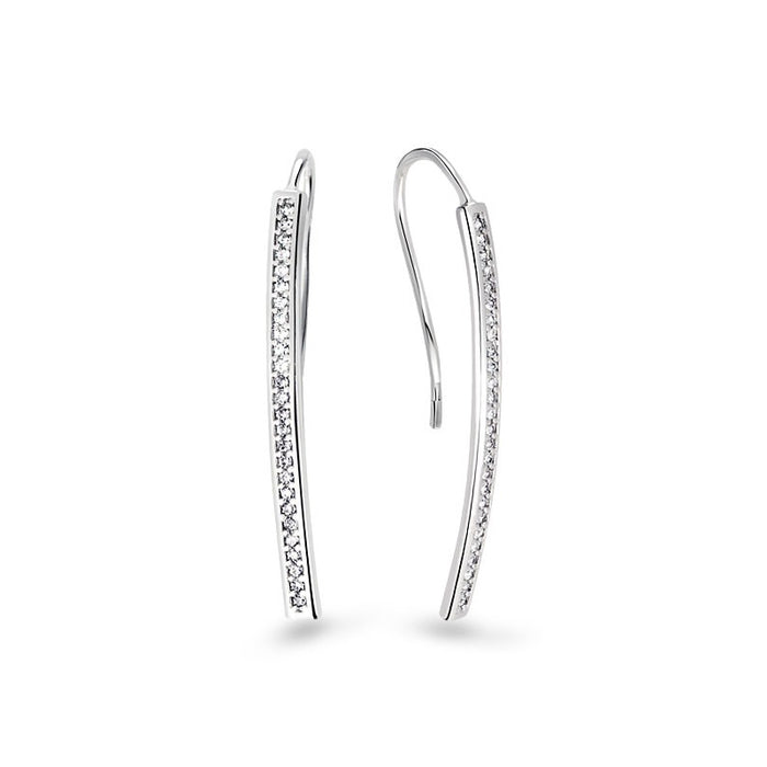 Modern Long Bar Earrings