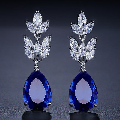 Teardrop Dangle Earrings for Women