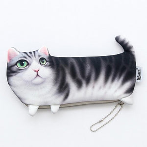 Piss Your Cat Off multi-functional zip-up pouch