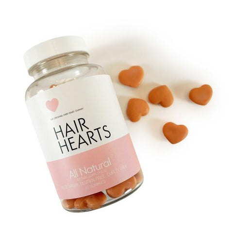 Hair Hearts Gummy Vitamins - Britnee Webb Cosmetics