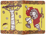 'CALYPSO' TRIBE PASSPORT HOLDER