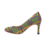 'LA BREA' TRIBAL PUMPS
