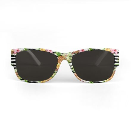 'MAYARO' BEACH LIME SUNGLASSES