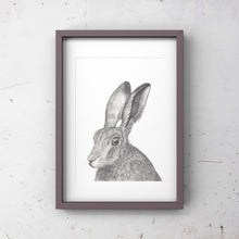 Load image into Gallery viewer, Hare, Limited edition print