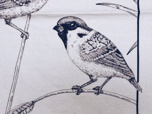 The Tideswell Sparrows Tea Towel
