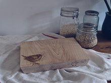 Load image into Gallery viewer, The Castleton Wren Small Chopping Board