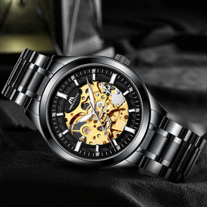 Megalith 8045M Stainless Steel Mechanical Watch for Men - New Wrist Watch Release
