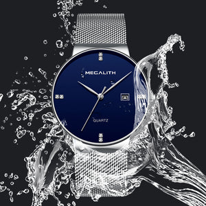 Megalith 0047M Mesh Watch with Simple for Men - New Wrist Watch Release