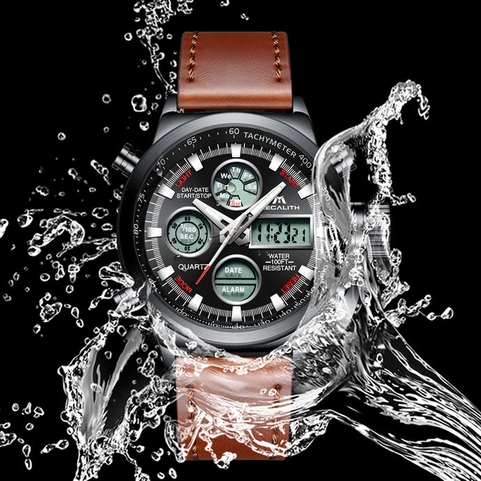 Megalith 0031M Sport Waterproof Watch with Big Face for Men - New Wrist Watch Release