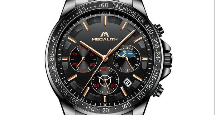 How to use the TACHYMETER of watch to measure the speed?