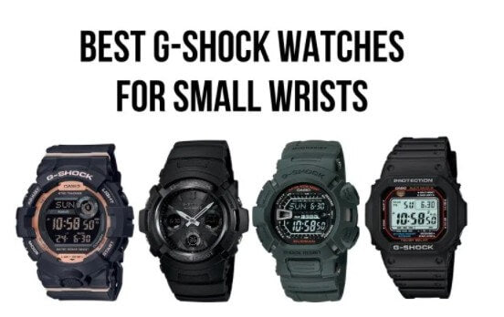 Best G-Shock Watches For Small Wrists