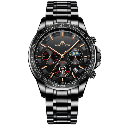 Five megalith stylish men's watches were voted