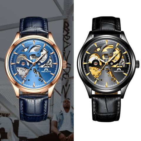 Megalith 8078M Fashion Leather Casual Watch with Men - New Wrist Watch Release