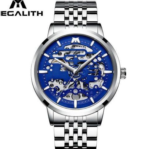 Megalith Blue  men Watches Collection