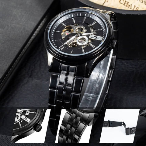 Megalith 8079M Stainless Steel Classic Quality Watch with Men - New Wrist Watch Release