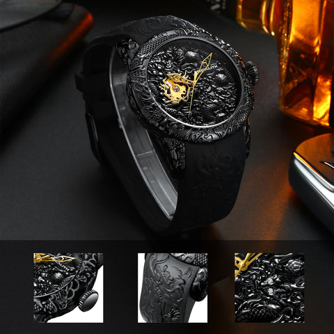 Megalith 8041M Fashion Rubber Watch for Men - New Wrist Watch Release