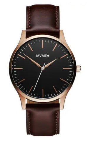 MVMT 40mm Rose Gold Brown