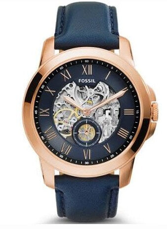 Fossil Grant Men's Automatic Skeleton Watch