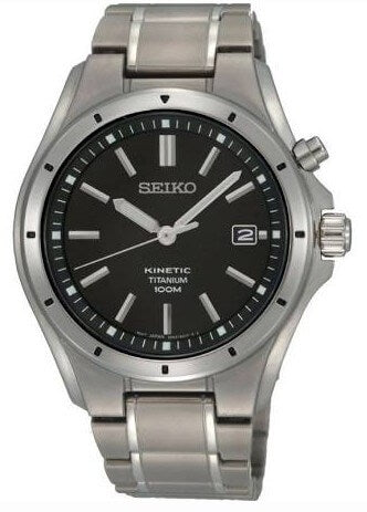 Seiko Titanium Kinetic Watch