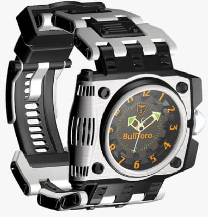 BullToro Men's Casual 3-Hand Analog With Stainless Steel Case