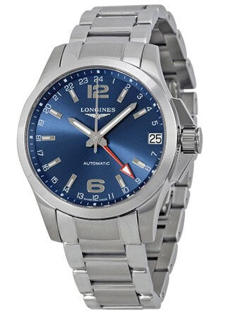 Longines Conquest GMT Watch