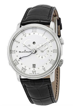 Blancpain Villeret Reveil GMT Alarm Automatic Watch