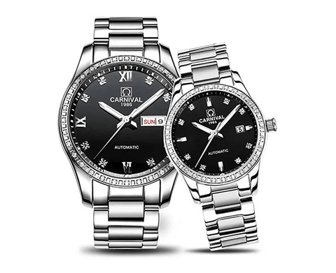 Gosasa Couple Automatic Mechanical Watch