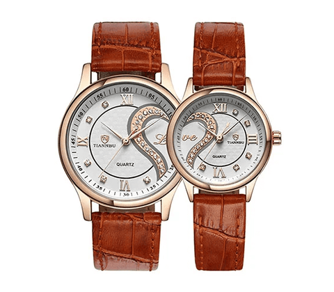Dreaming Q&P Romantic His and Hers Quartz Watch