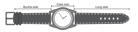 What size is standard men's watch size
