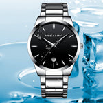 Load image into Gallery viewer, 0072M | Quartz Men Watch | Stainless Steel Band-megalith watch