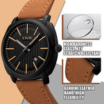 Load image into Gallery viewer, 9169C | Quartz Men Watch | Leather Band-megalith watch