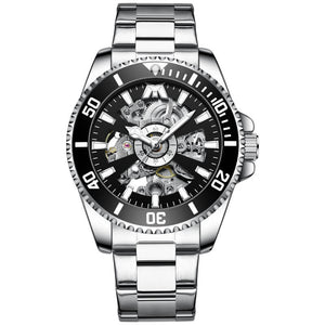 8215M | Mechanical Men Watch | Stainless Steel Band-megalith watch