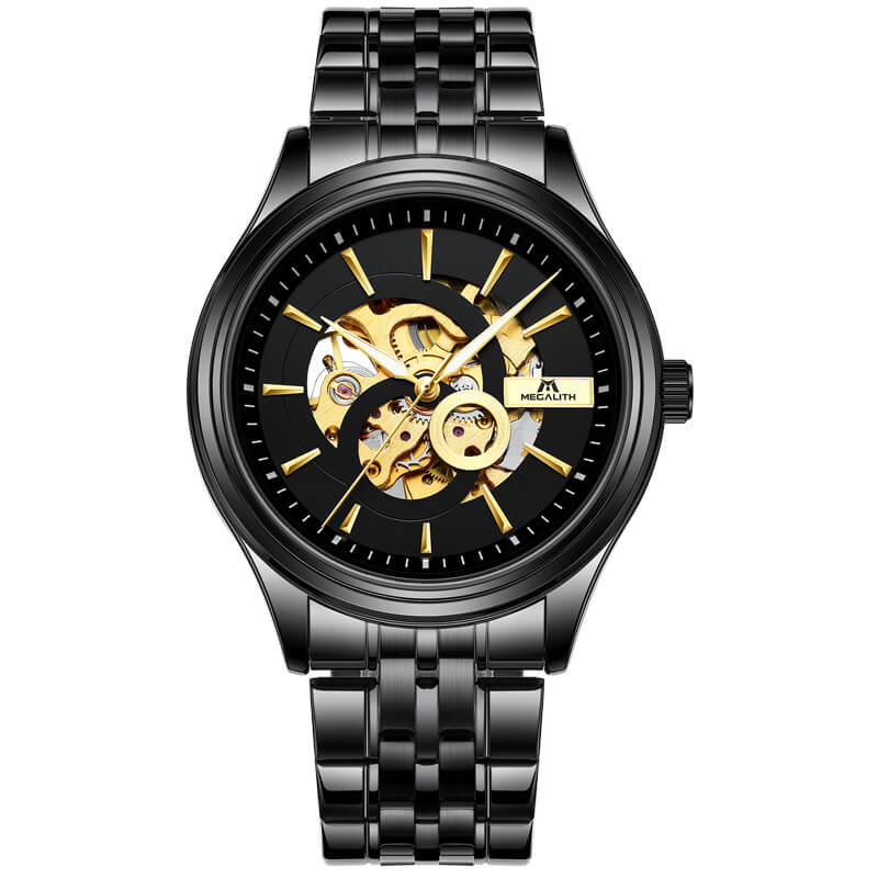 8079M | Mechanical Men Watch | Stainless Steel Band-megalith watch