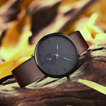 Load image into Gallery viewer, 0124C | Quartz Men Watch | Leather Band-megalith watch
