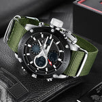Load image into Gallery viewer, 8236M | Quartz Men Watch | Nylon Band-megalith watch