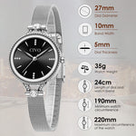 Load image into Gallery viewer, 8121C | Quartz Women Watch | Mesh Band-megalith watch