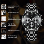 Load image into Gallery viewer, 0060M | Quartz Men Watch | Stainless Steel Band-megalith watch