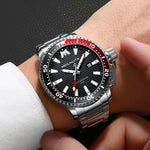 Load image into Gallery viewer, MEGALITH Mens Watches Men Designer Luminous Waterproof Stainless Steel Wrist Watch Big Face Date Calendar Business Fashion Casual Dress Analogue Watches for Man-megalith watch