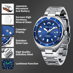 Load image into Gallery viewer, 8604M | Quartz Men Watch | Stainless Steel Band-megalith watch