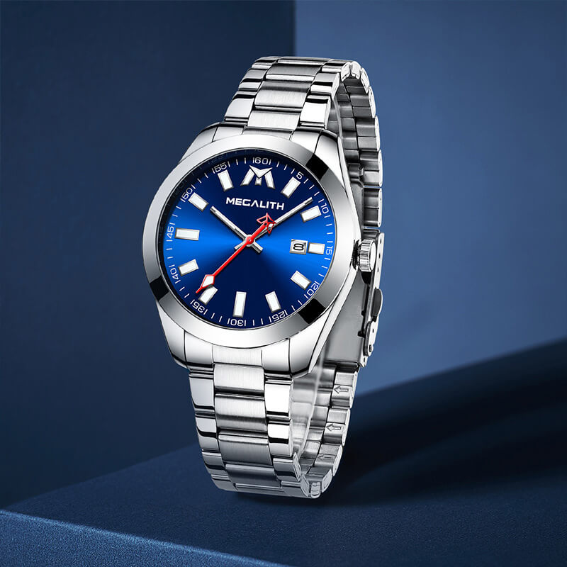 8603M | Quartz Men Watch | Stainless Steel Band-megalith watch