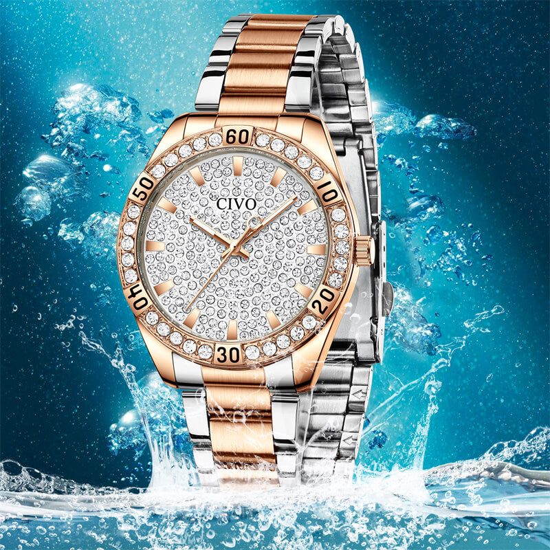 8117C | Quartz Women Watch | Stainless steel Band-megalith watch