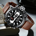 Load image into Gallery viewer, 8229M | Quartz Men Watch | Leather Band-megalith watch
