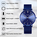 Load image into Gallery viewer, 8056C | Quartz Men Watch | Mesh Band-megalith watch