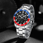 Load image into Gallery viewer, 8601M | Quartz Men Watch | Stainless Steel Band-megalith watch