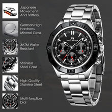 8206M | Quartz Men Watch | Stainless Steel Band