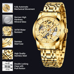 Load image into Gallery viewer, 8205M | Mechanical Men Watch | Stainless Steel Band-megalith watch