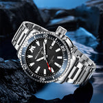 Load image into Gallery viewer, 8214M | Quartz Men Watch | Stainless Steel Band-megalith watch