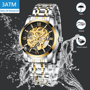 8205M | Mechanical Men Watch | Stainless Steel Band