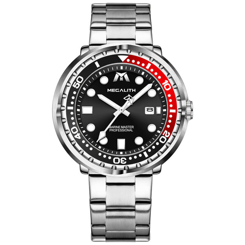 8605M | Quartz Men Watch | Stainless Steel Band-megalith watch