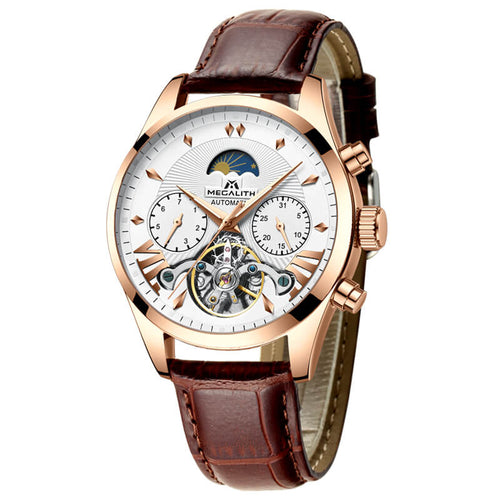 8092M | Mechanical Men Watch | Leather Band